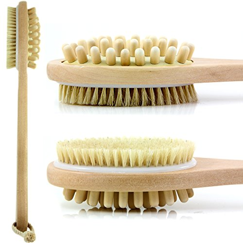 Bath Blossom Natural Bristle cellulite Body Brush