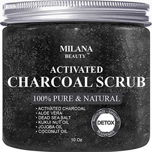 Activated Charcoal Scrub 10 oz