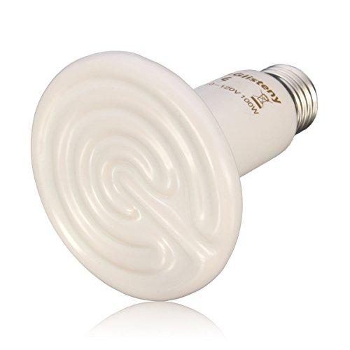 Ceramic Heat Glisteny Mini Heat Lamp Infrared Bulb