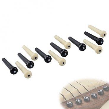 Capuchon de micro en plastique pour guitare /électrique 48//50//52 1 V2T blanc